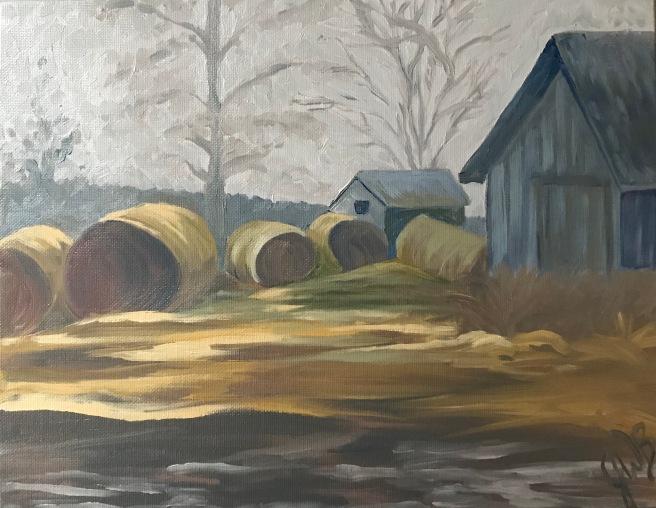 14x17 oil